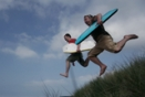 Surfing Strandhill, Sligo 45