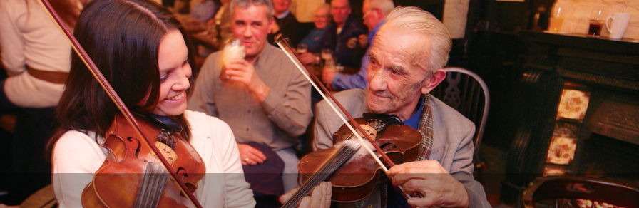 Experience traditional Irish culture...