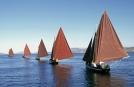 Adventure Ireland Tours view of Galway Traditional Hooker Boats
