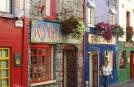 Ireland Tours to Galyway | Shop Fronts