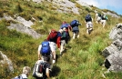 Hill walking on Ireland Tours