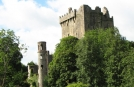 Kissing Irelands Blarney Stone on Biking and Walking Holidays