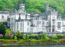 Biking Backroads in Ireland to Kylemore Abbey