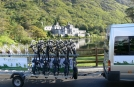 Biking Kylemore Abbey