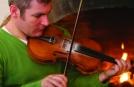 Traditionelle Musik bei einer Wochenendreise in Irland