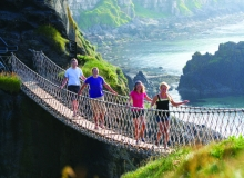 Budget Adventure Tours to Carrig-a-Rede Rope Bridge