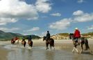 Horseriding on Explore Tours of Ireland