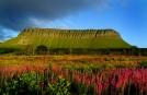 Walking in Ireland on Tour - Benbulben, Sligo