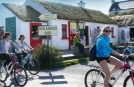 Backpackers on Tour on the Aran Islands